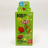Натуральные конфеты Bob Snail Яблоко-Груша с игрушкой 51 г