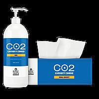 Карбокси 15% CO2 гель 1,5 л + маска бумажная 50шт