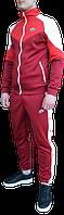Спортивный костюм Nike Heritage (найк) красный с белым