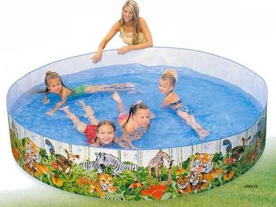 Детские каркасные бассейны Intex,Bestway