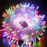 Светодиодная гирлянда нить 300 LED 18 метров, фото 2