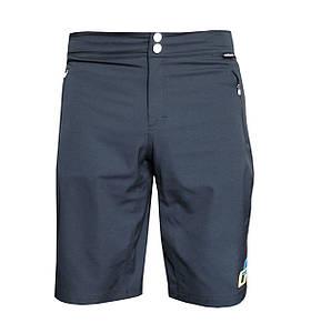 Велошорти GHOST XXL All Mountain Shorts 14390 черный / белый / синий 2014