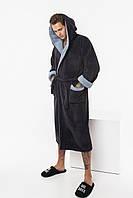 Мужской теплый халат