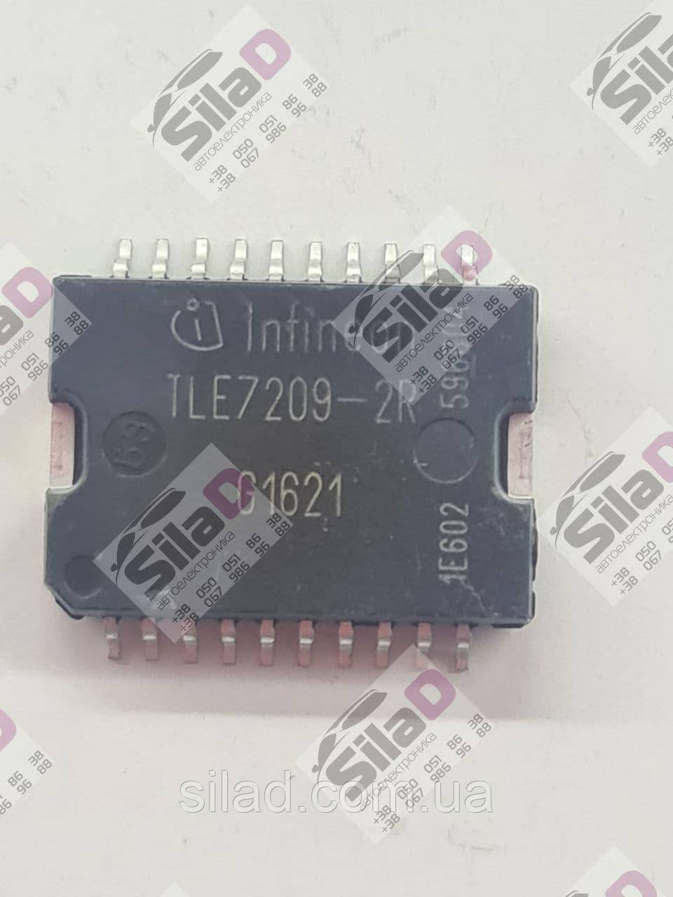 Микросхема TLE7209-2R Infineon корпус P-DSO-20-12