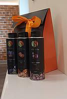 Подарочный набор масел холодного отжима ТМ Sun Seed (льняное, ореховое и виноградных косточек)
