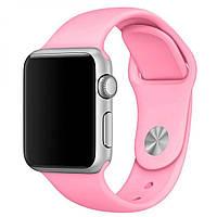 Силиконовый ремешок M/L для Apple Watch 42 / 44 | Candy Pink | DK