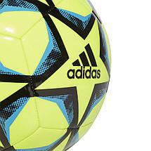 Мяч футбольный Adidas Finale 20 Club №5 FS0259 Желтый, фото 2