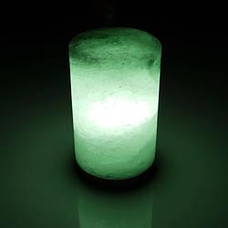 Соляна лампа SALTKEY CANDLE Green