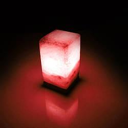 Соляна лампа SALTKEY BLOCK Red