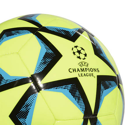 Мяч футбольный Adidas Finale 20 Club №3 FS0259 Желтый, фото 2