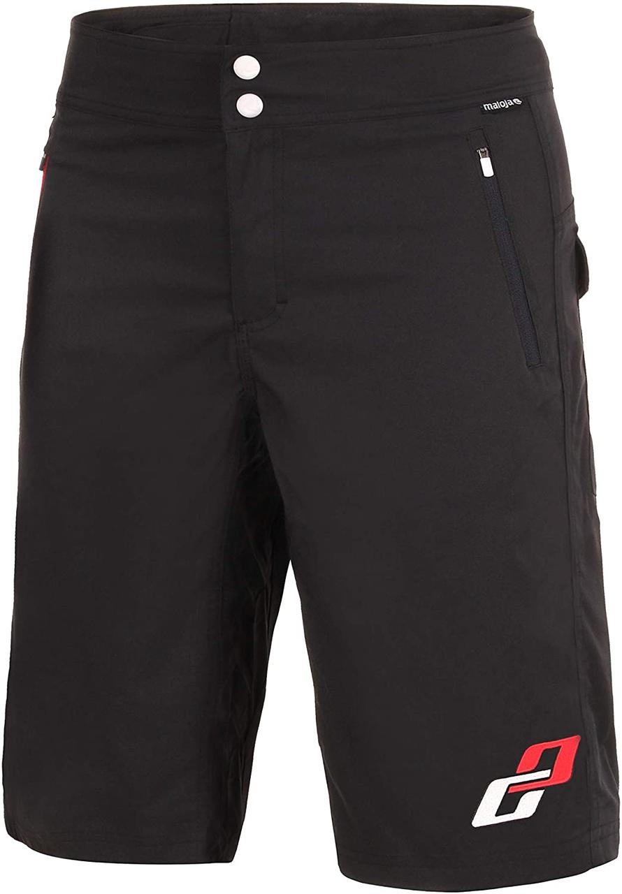 Велошорти GHOST All Mountain Shorts man black/white/red 2014