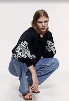Красивейший женский свитшот толстовка от бренда ZARA