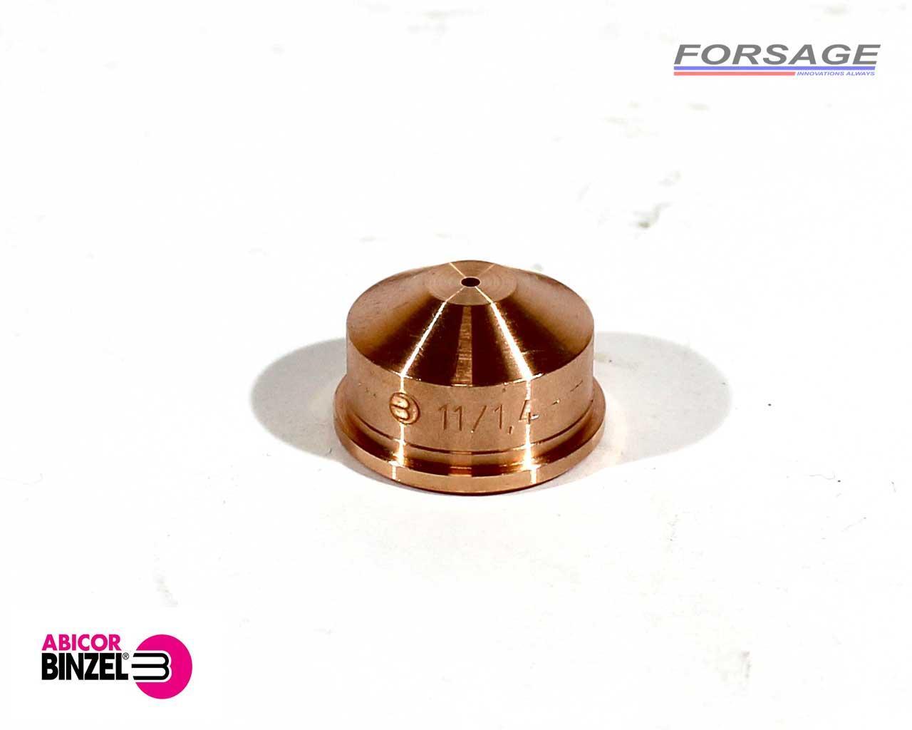 Сопло для плазмотрона ABIPLAS CUT-110 Ø1,4мм Abicor Binzel