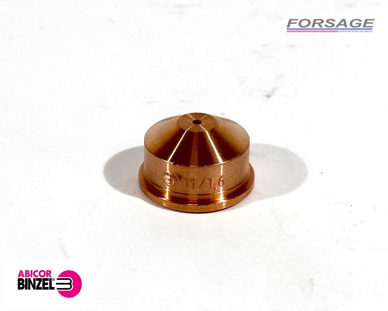 Сопло для плазмотрона ABIPLAS CUT-110 Ø1,6мм Abicor Binzel