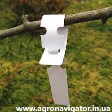Этикетки-петля для маркировки растений TYVEK белая 1,27х16 см, 1000 шт.