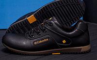 Кожаные туфли на шнуровке фирменные