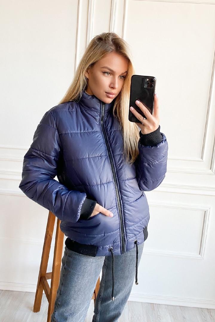 Укороченная дутая куртка