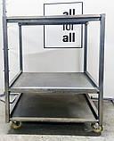 Візок промисловий кухонний з дотатковими поличками, фото 2