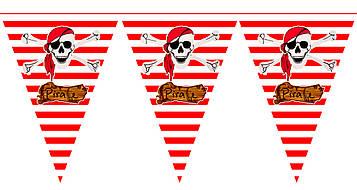 """""""Пираты"""" - Вымпел, 15 флажков."""