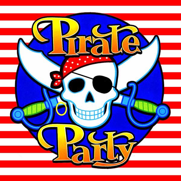 """""""Пираты"""" - Тарелочки Полоска 18 см."""