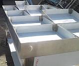 Противни с съемным бортом 750х280х50 из 201 нержавеющей стали 201, фото 7