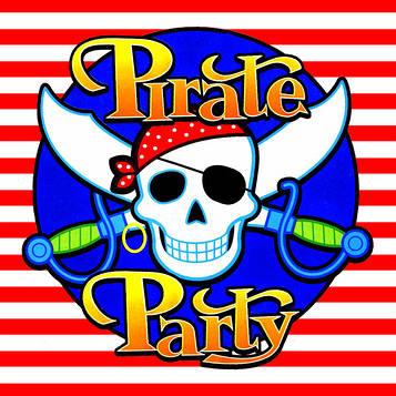 """""""Пираты"""" - Сладости/Попкорн"""