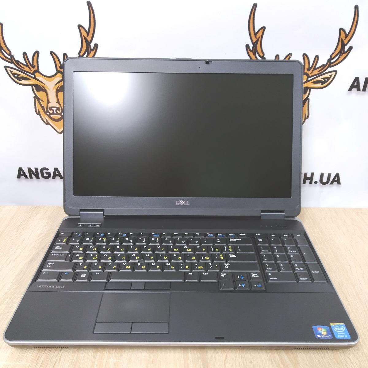"Ноутбук б/у 15.6"" Dell Latitude E6540 (Intel Core i7-4800MQ / DDR3-8Gb / SSD 120Gb / IPS / RadeonHD / АКБ 1.5)"