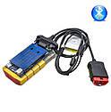 Автосканер Delphi DS150E V3.0  OBD2 NEK реле Bluetooth сканер диагностики авто мультимарочный ЗОЛОТОЙ ds150e, фото 4