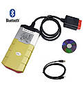 Автосканер Delphi DS150E V3.0  OBD2 NEK реле Bluetooth сканер диагностики авто мультимарочный ЗОЛОТОЙ ds150e, фото 2