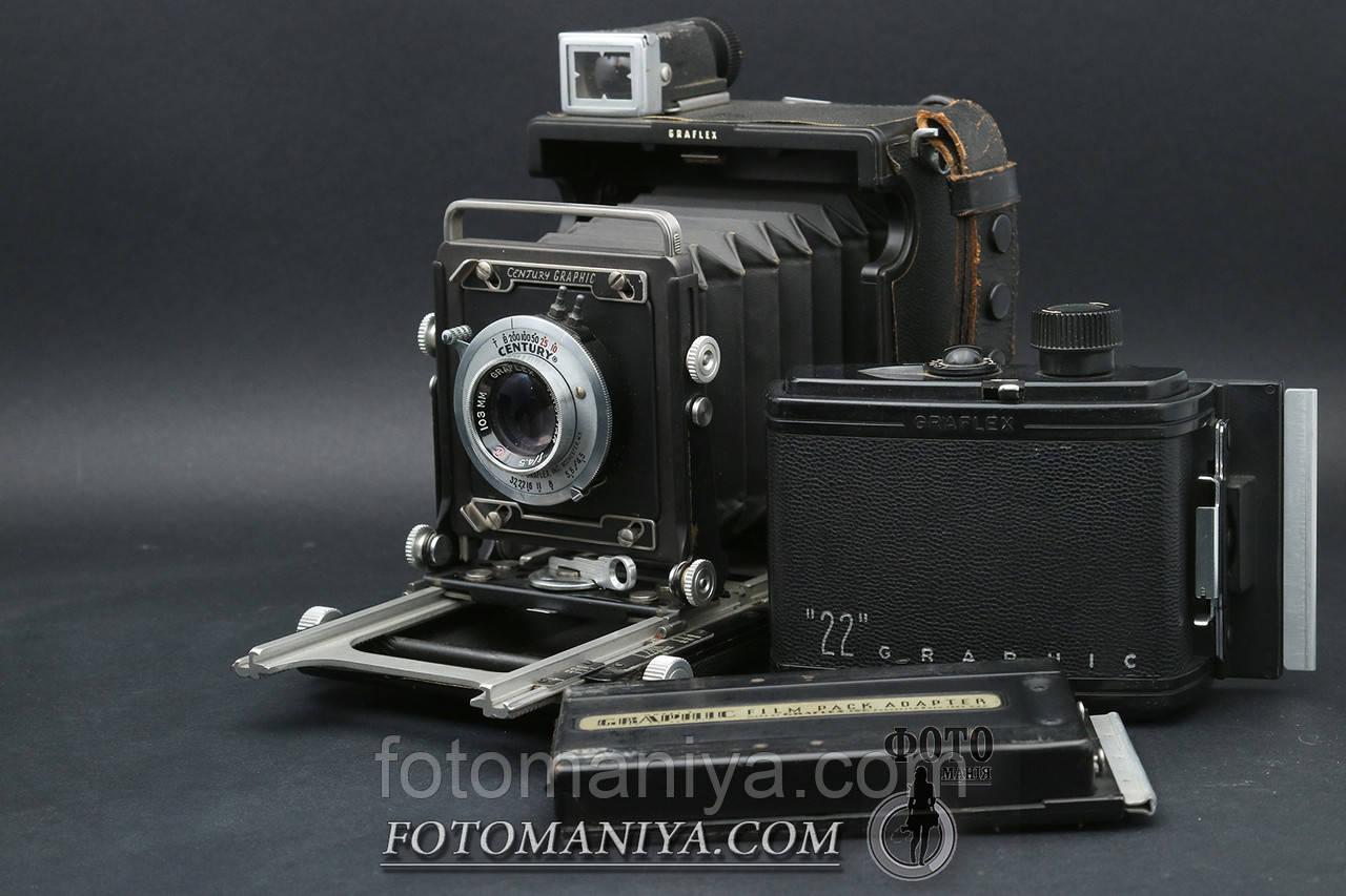 Graflex Century Graphic Graflex Camera 103mm F4.5