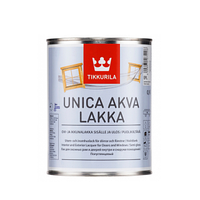 Лак на основе модифицированного акрилата Tikkurila Unica Akva Lakka 0,9 л