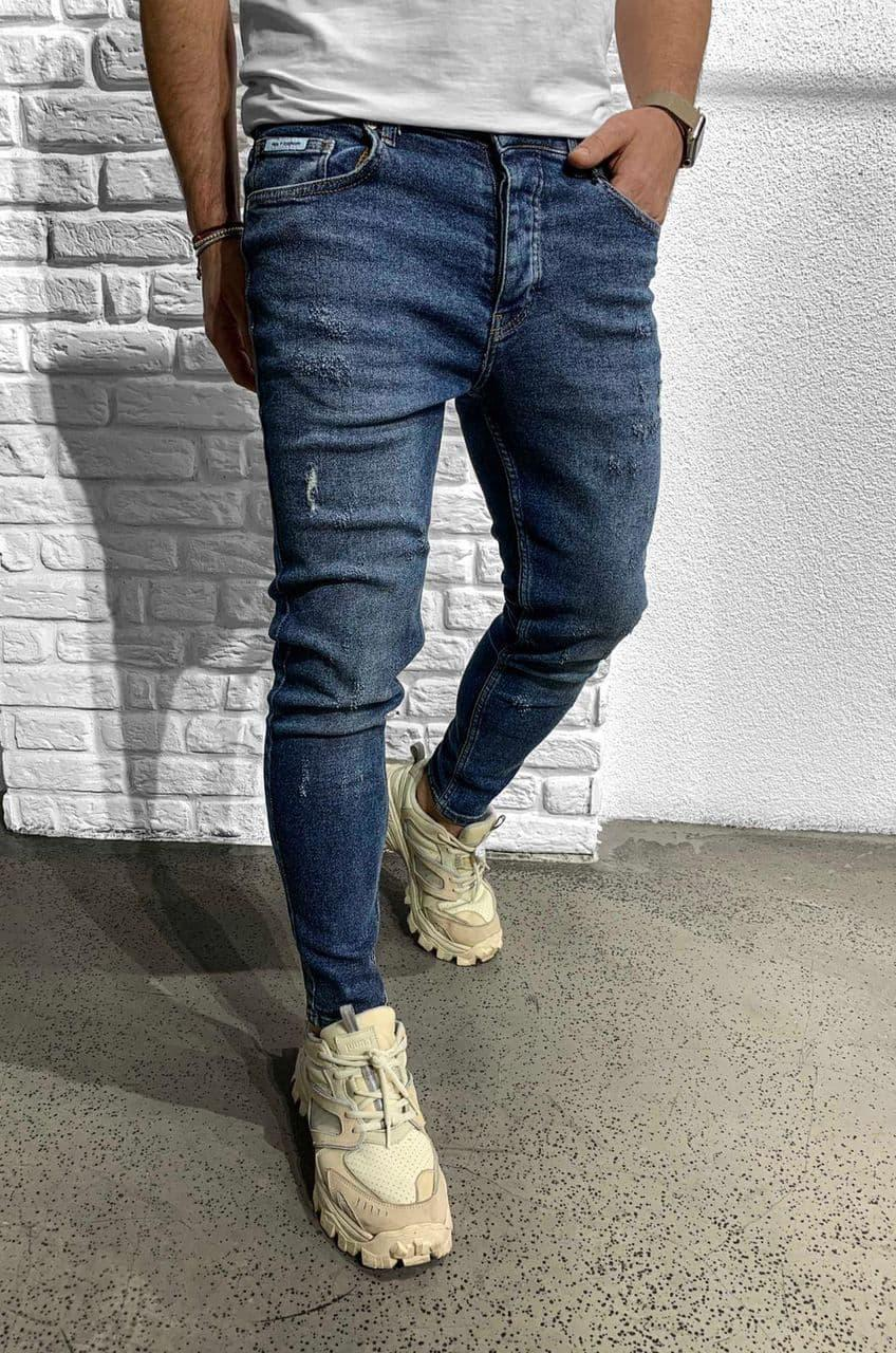 Мужские джинсы синие Black Island 6203-3468