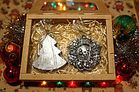 """Подарки детям на новый год - Подарочный набор """"Ёлочка и снежинка"""". Оригинальный подарок."""
