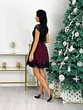 Красиве жіноче довге в'язана сукня сукня 42-46р.(3асцв.), фото 4