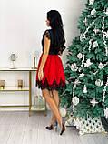 Красиве жіноче довге в'язана сукня сукня 42-46р.(3асцв.), фото 2