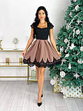 Красиве жіноче довге в'язана сукня сукня 42-46р.(3асцв.), фото 7