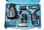 Шуруповерт Makita d330D на 2 аккумулятора + чемодан, фото 4