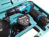 Шуруповерт Makita d330D на 2 аккумулятора + чемодан, фото 5
