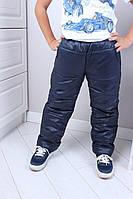 Дитячі штани плащівка на синтепоні 134-158 зростання