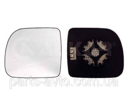 Стекло зеркала левого с подогревом Renault Kangoo 1997-2003 ALKAR A6432156, 7701048401, 7701044083