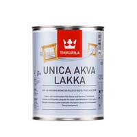 Лак на основе модифицированного акрилата Tikkurila Unica Akva Lakka 2,7  л