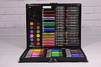 Набор для рисования ART SET Чемодан творчества 150 предметов (Чёрный), фото 2