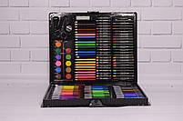 Набор для рисования ART SET Чемодан творчества 150 предметов (Чёрный), фото 5