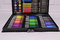 Набор для рисования ART SET Чемодан творчества 150 предметов (Чёрный), фото 4