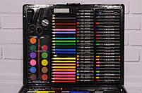 Набор для рисования ART SET Чемодан творчества 150 предметов (Чёрный), фото 6