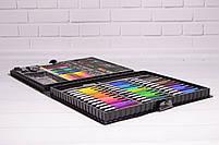 Набор для рисования ART SET Чемодан творчества 150 предметов (Чёрный), фото 7