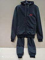 Теплый мужской костюм на флисе, размер  54 (СКЛАД)