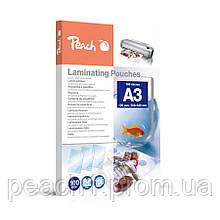 Пленка для ламинирования Peach А3 (303x426мм) - 100 мкм глянец, 100шт