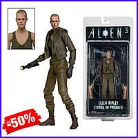 Детская игровая коллекционная фигурка персонажа Эллин Рипли Ellen Ripley Alien 3 Series 7 Neca (В)