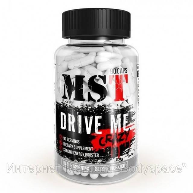 MST Sport Nutrition, Предтреник Drive Me Crazy, 90 капсул